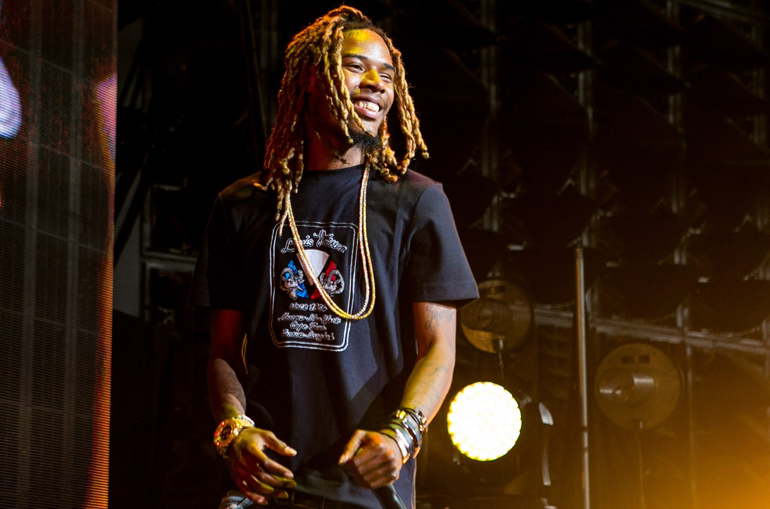 Fetty Wap performs at DTE Energy Center