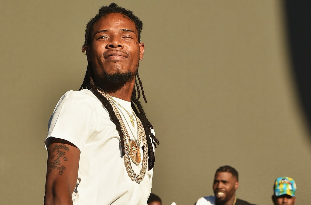 Fetty Wap at the 2016 Billboard Hot 100 Festival