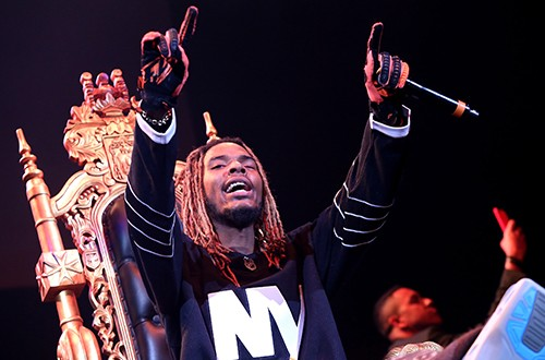 Fetty Wap performs onstage during 105.1's Powerhouse 2015