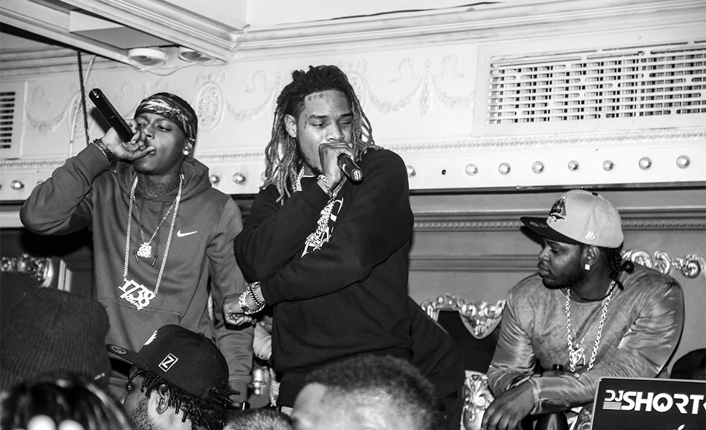 Fetty Wap performing at the Tuesday Baby Tuesday party at Up&Down to kick of New York Fashion Week on Feb. 9, 2016.