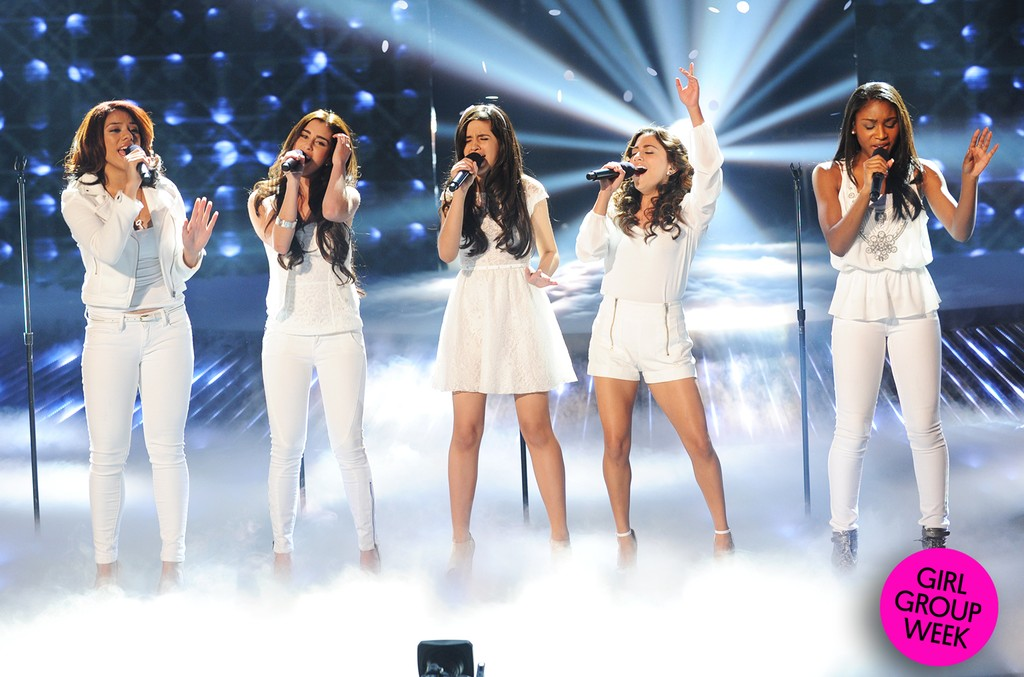 Fifth Harmony perform on The X Factor on Nov. 14, 2012 in Hollywood, Calif.