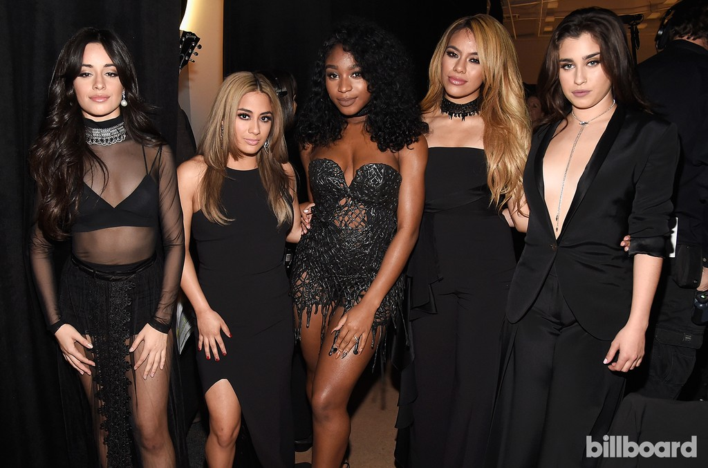 Camilla Cabello, Ally Brooke, Normani Kordei, Dinah Jane, and Lauren Jauregui of Fifth Harmony attend the Billboard Women in Music 2016 event on Dec. 9, 2016 in New York City.