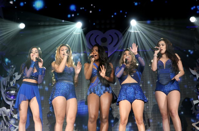 Fifth Harmony perform during 103.5 KISS FM's Jingle Ball
