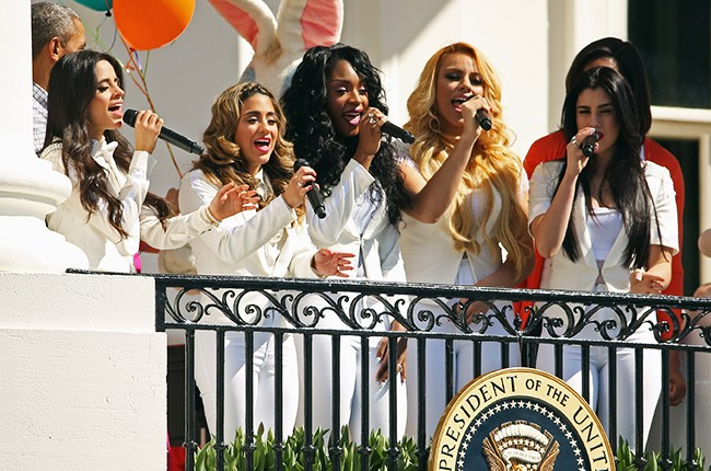 fifth harmony michelle obama white house 2015