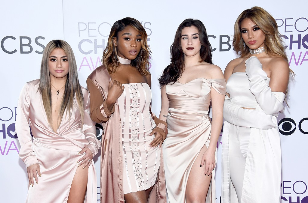 Ally Brooke, Normani Kordei, Lauren Jauregui, and Dinah Jane of Fifth Harmony