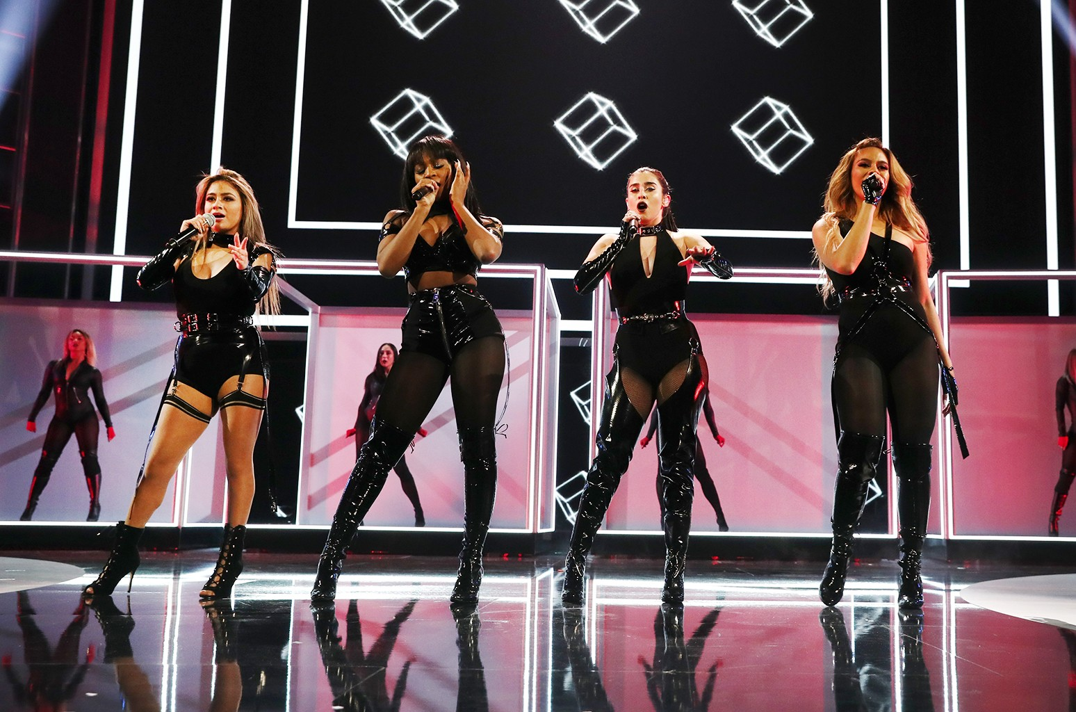 Ally Brooke, Normani Kordei, Lauren Jauregui, and Dinah Jane of Fifth Harmony