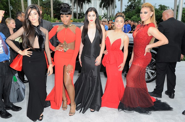 "Fifth Harmony attend the 2015 Billboard Latin Music Awards ""Premios Billboard"""