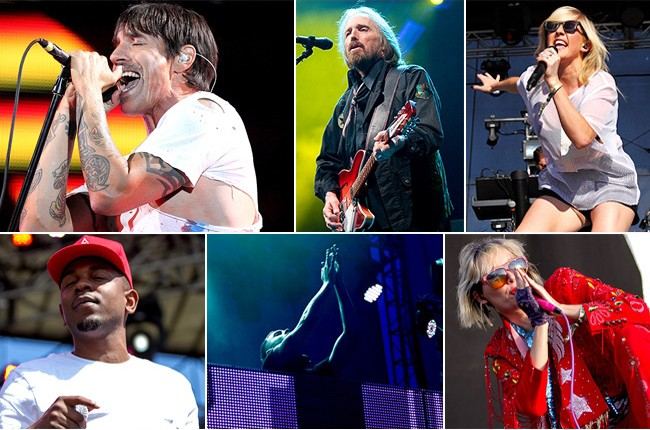 Firefly Festival 2013: Red Hot Chili Peppers, Tom Petty, Yeah Yeah Yeahs, and more