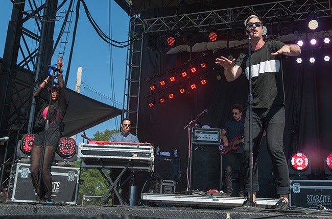 Fitz and the Tantrums perform at Governors Ball 2014