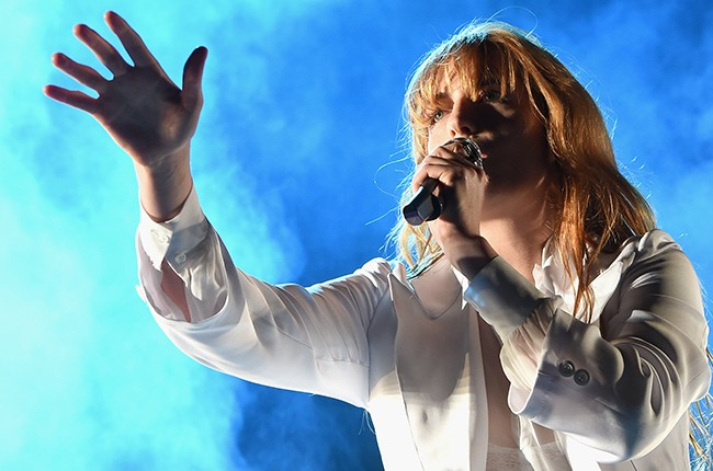 Florence Welch of Florence and the Machine performs onstage during day 3 of the 2015 Coachella