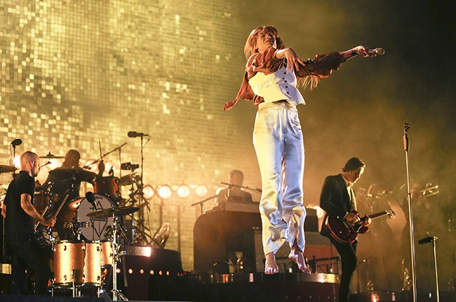 Florence + the Machine performs at the Austin City Limits Music Festival
