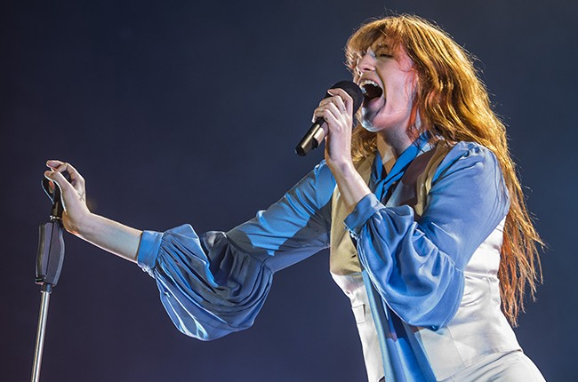 Florence and the Machine perform live at Mediolanum Forum