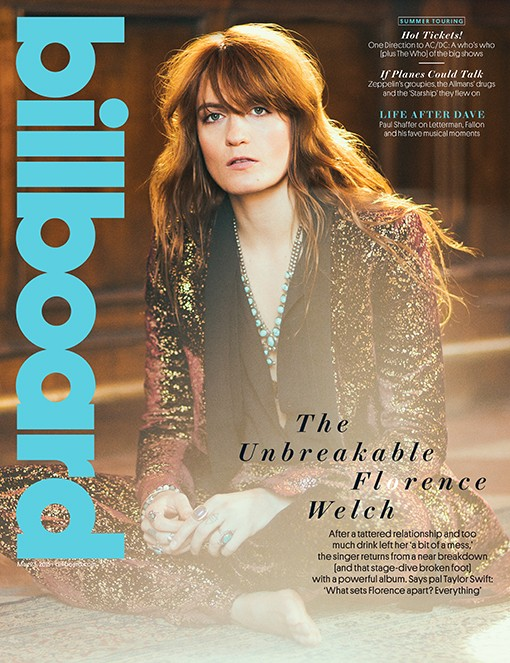 Florence Welch of Florence + The Machine Cover BB15 2015