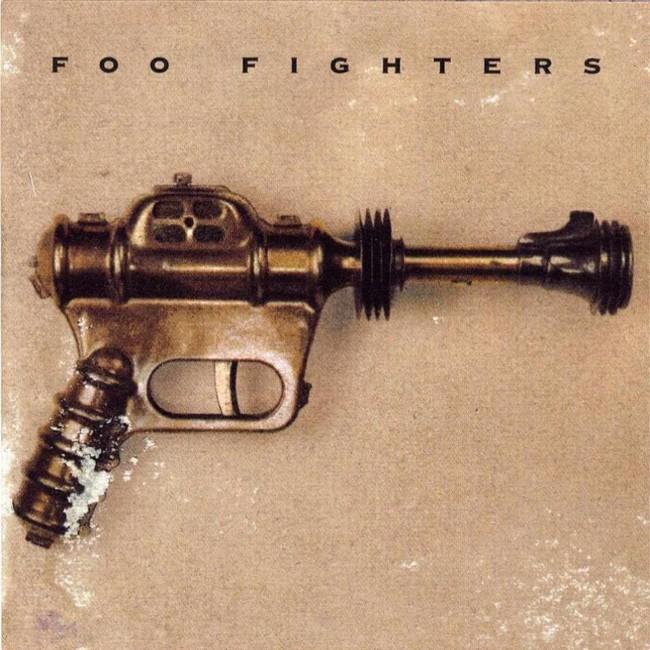 Foo Fighters' self titled debut album released in 1995.