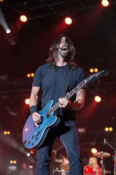 Foo Fighters at Firefly 2014.