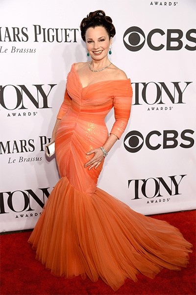 Fran Drescher attends the 68th Annual Tony Awards