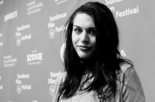 """Frances Bean Cobain at the HBO documentary films """"Kurt Cobain: Montage of Heck"""" Sundance premiere & party"""