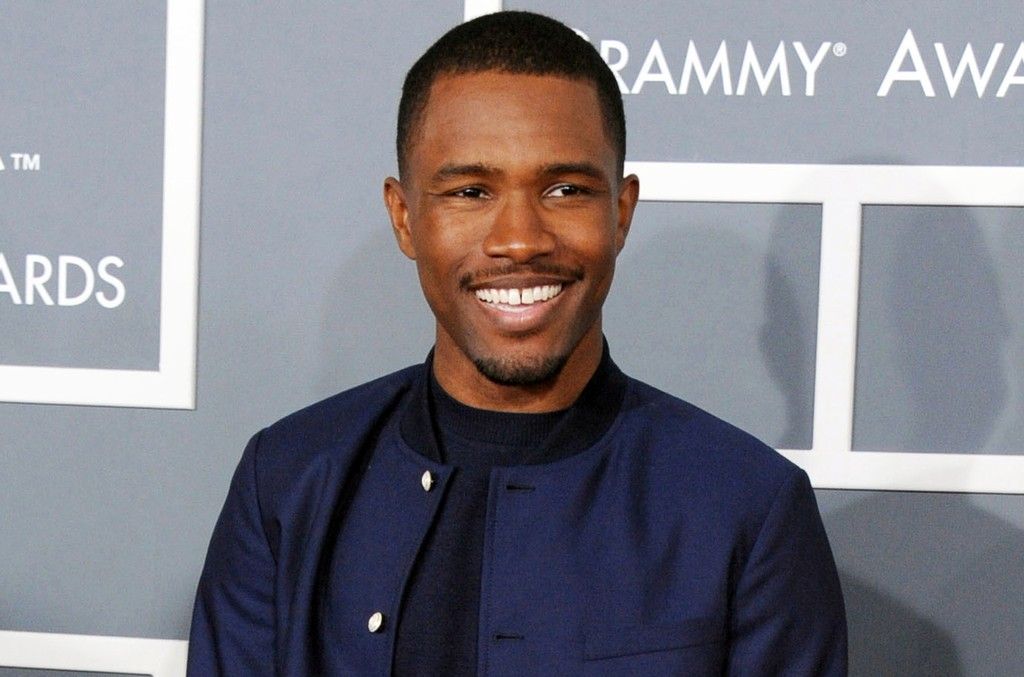 Frank Ocean at the 55th annual Grammy Awards