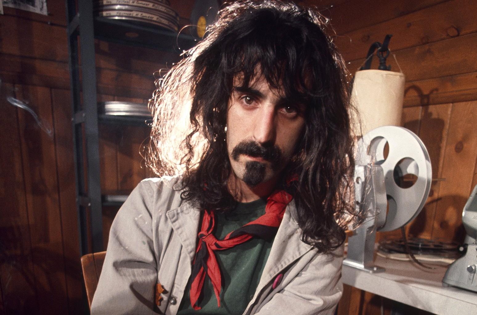 Frank Zappa in 1972