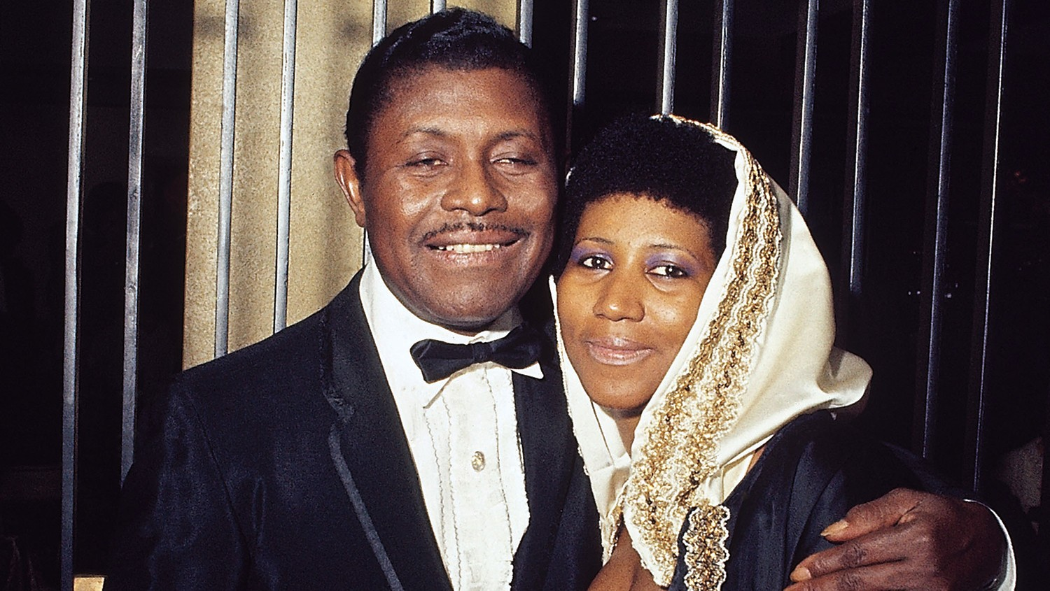 Aretha Franklin & her father