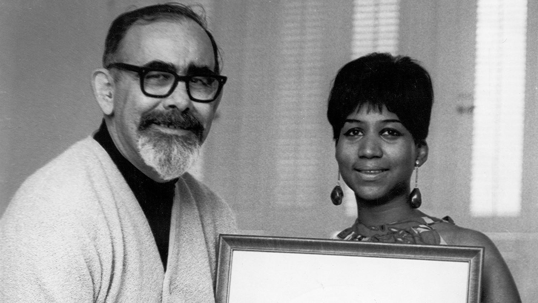 Aretha Franklin & Jerry Wexler