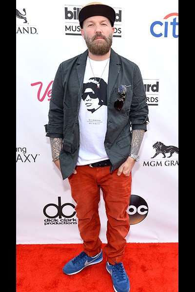 Fred Durst on the red carpet at the 2014 Billboard Music Awards