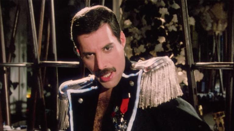 Freddie Mercury Living On My Own Solo Video Watch New Hd Version Billboard Billboard