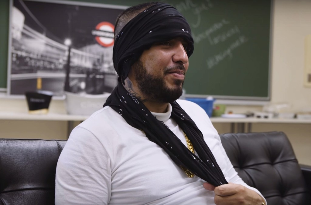 French Montana during an interview with Montreality