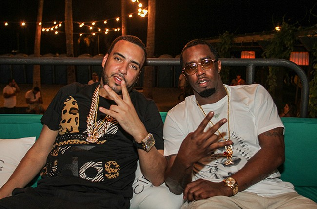 """French Montana and Sean """"Diddy"""" Combs"""