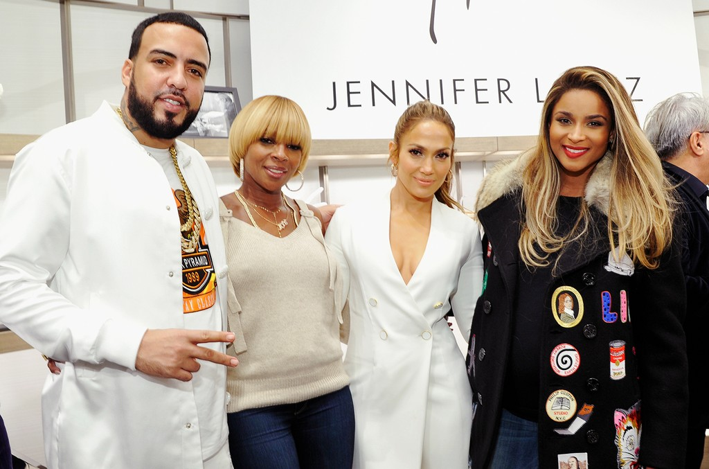 French Montana, Mary J. Blige, Jennifer Lopez & Ciara