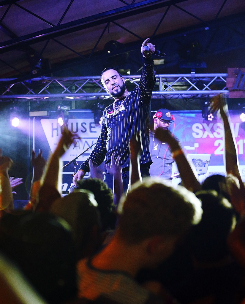 French Montana performs onstage at the House of Vans Chicago music showcase during 2017 SXSW Conference and Festivals at Mohawk Outdoor on March 16, 2017 in Austin, Texas.