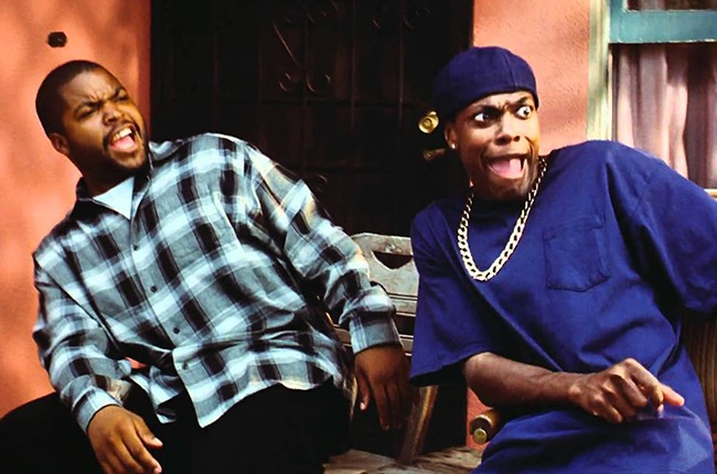 Ice Cube and Chris Tucker Friday 1995