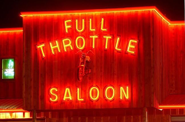 Full Throttle Saloon in Sturgis, S.D.