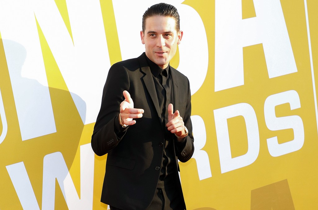 G-Eazy attends the 2017 NBA Awards at Basketball City - Pier 36 - South Street on June 26, 2017 in New York City.