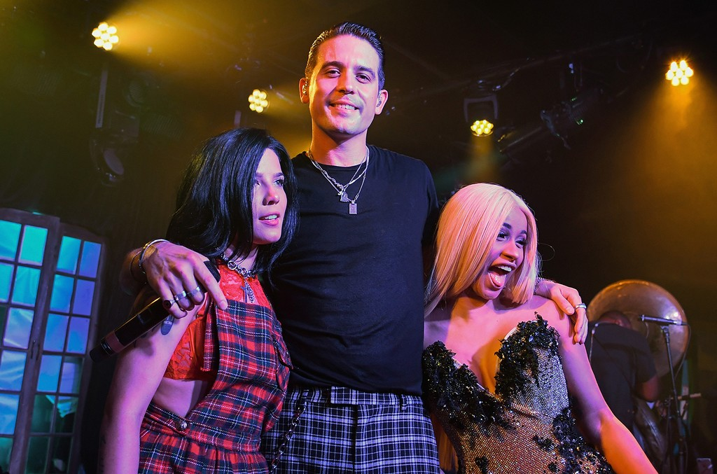 Halsey, G-Eazy, Cardi B