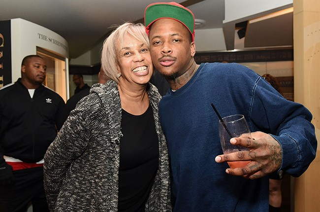 Gail Mitchell and YG