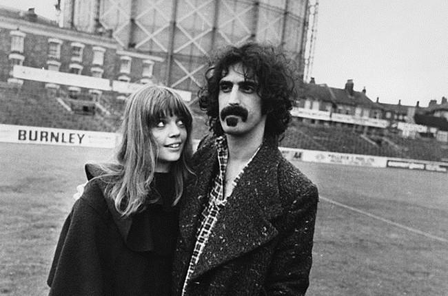 Gail and Frank Zappa