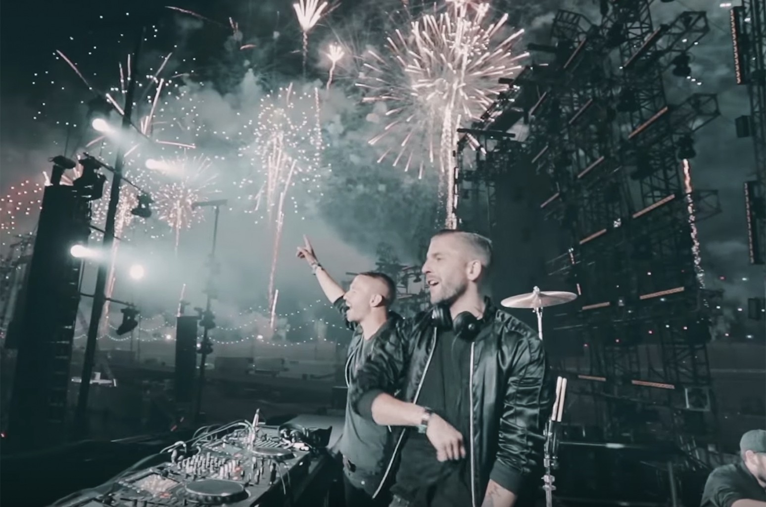 """Galantis in the video for """"True Feeling"""""""
