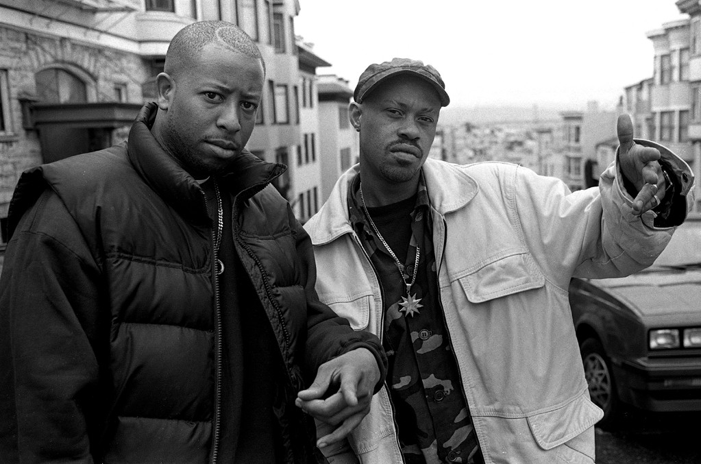MC Guru and DJ Premier of Gang Starr
