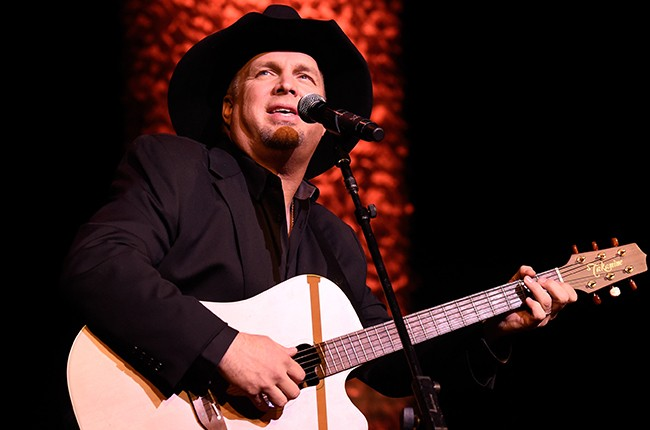 Garth Brooks performs onstage at the ASCAP Centennial Awards at Waldorf 2014