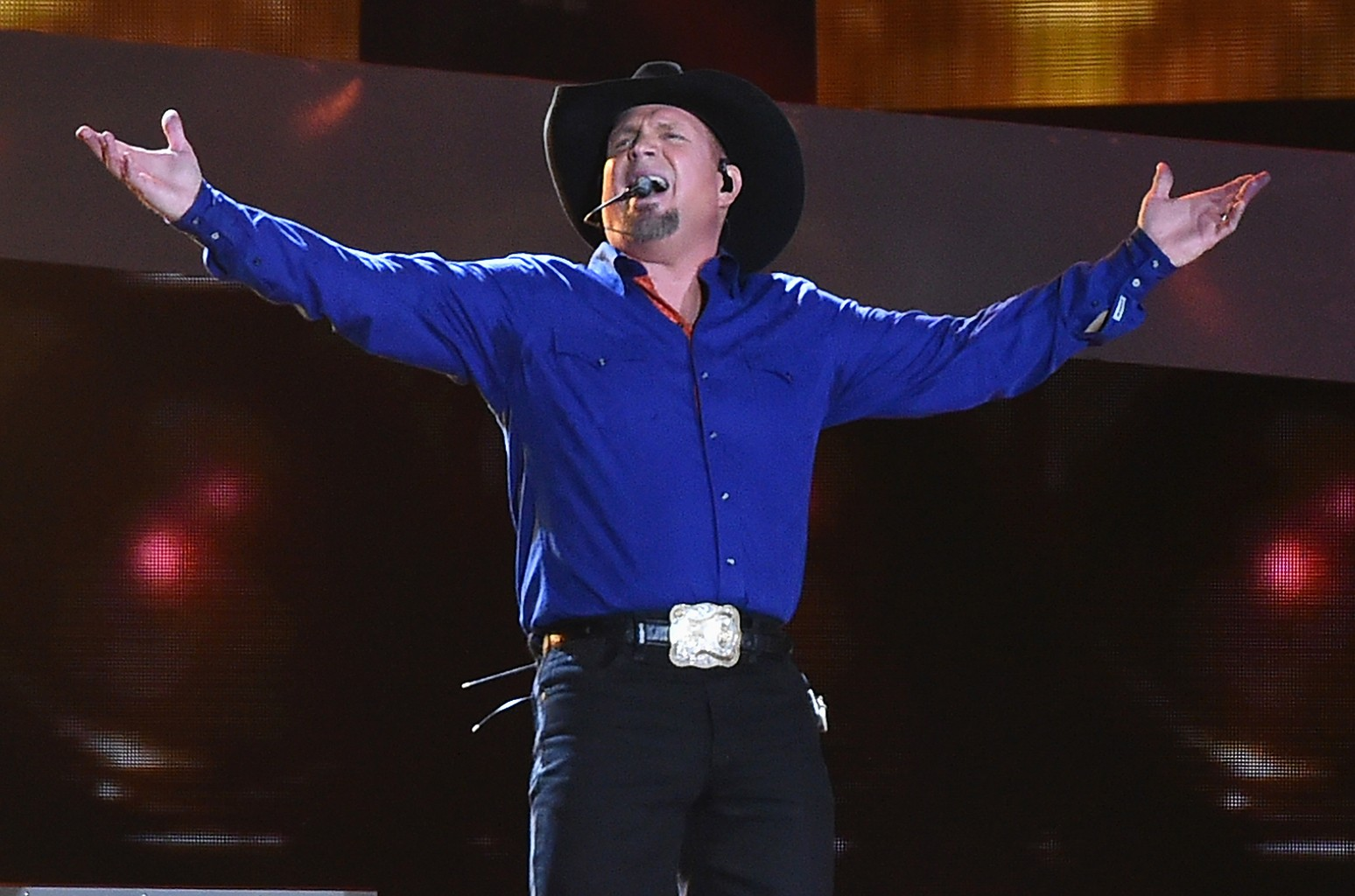 Garth Brooks performs at Yankee Stadium
