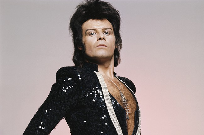 Convicted sex offender Paul Gadd aka Gary Glitter