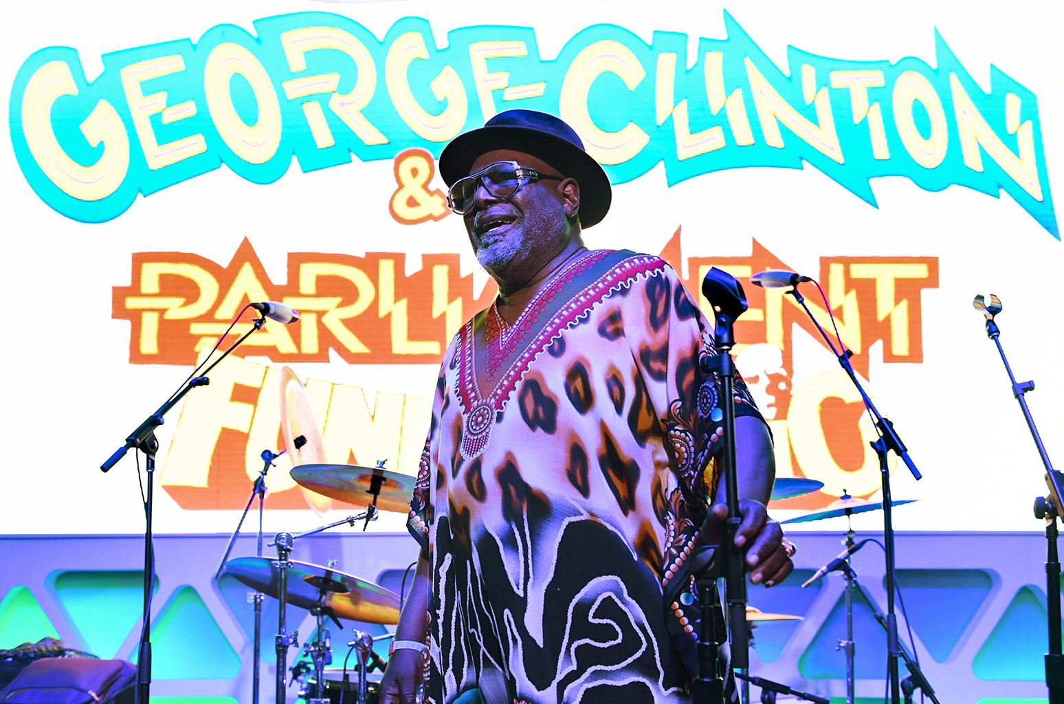 George Clinton performs at Heineken House Ultimate House Party during day 2 of Coachella Valley Music and Arts Festival on April 15, 2017 in Palm Springs, Calif.