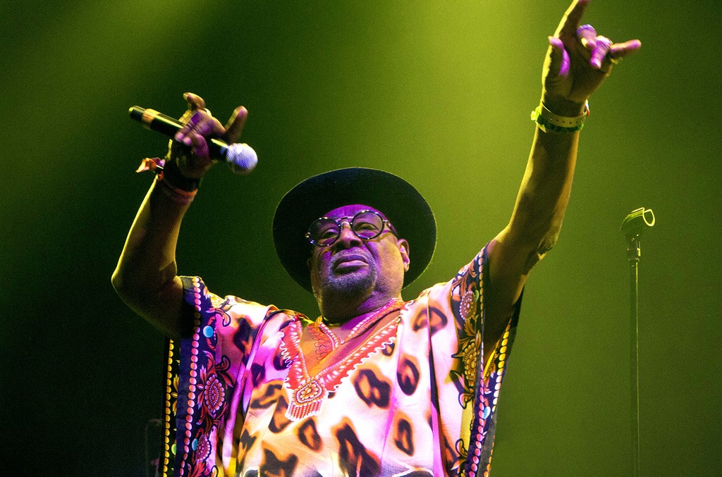 George Clinton performs in 2016