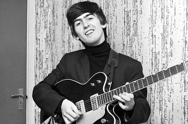 George Harrison, 1963.