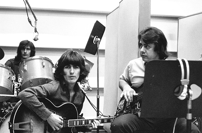 George Harrison and Joe Osborn