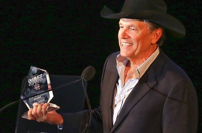 George Strait at the Touring Awards