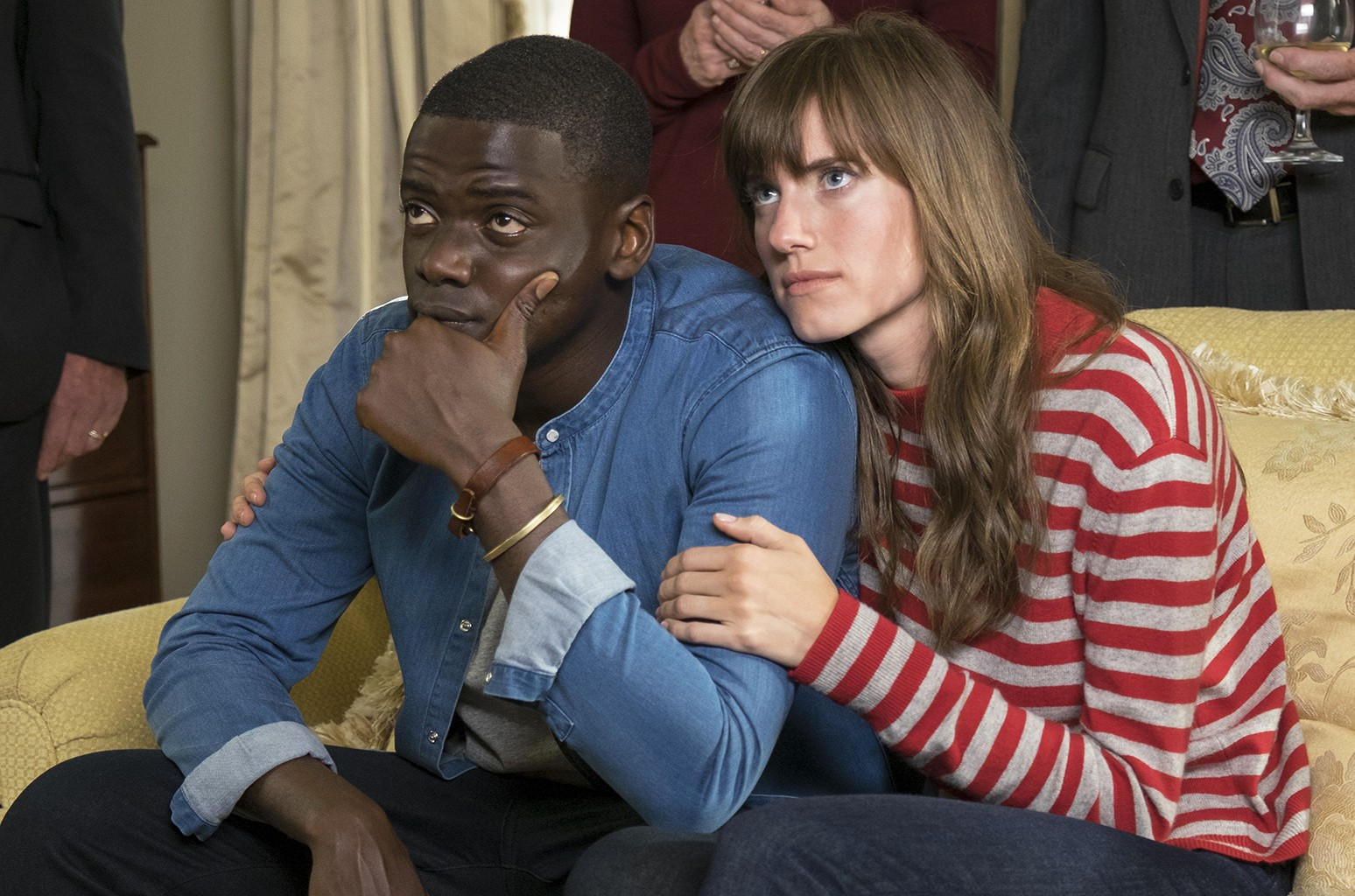Daniel Kaluuya and Allison Williams in Get Out.