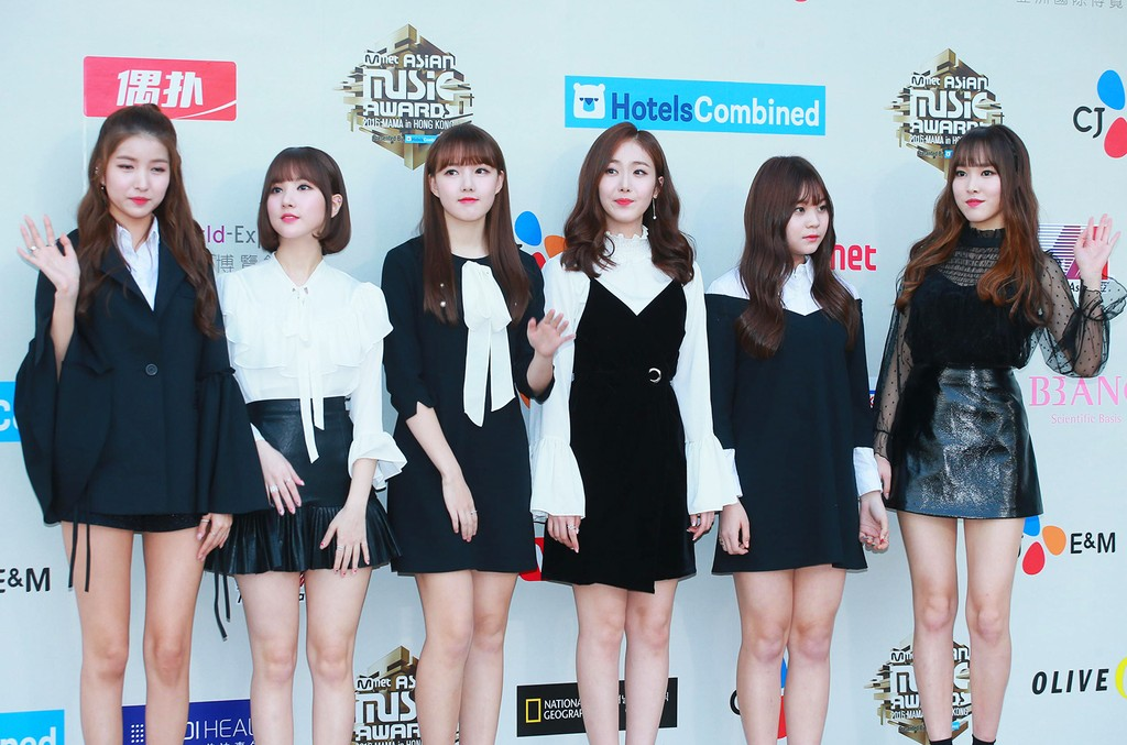 GFriend at the 2016 Mnet Asian Music Awards