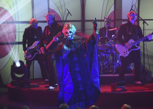 Ghost perform on The Late Show with Stephen Colbert